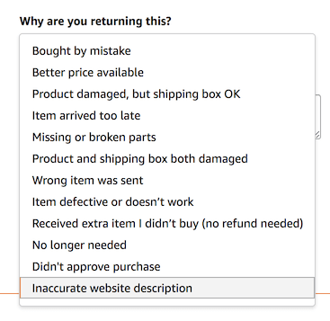 return-reasons