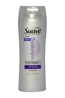 Special pack of 5 UNILEVER Suave Professionals Volumizing Hair Shampoo for Fine Hair - 12.6 oz