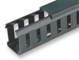 CABLE TRUNKING, 37.5X37.5MM, 2M L, BLK 0845 0056 010 By PRO POWER