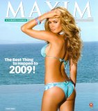 Maxim 2009 Calendar, 13x15