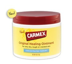 Carmex Healing Ointment Lotion Concentrated Therapy Dry Rough Skin - 2 Pack