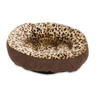 Aspen Pet Round Bed Animal Print - 18