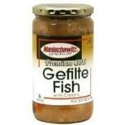 Manischewitz Fish Gefilte Jel Premgold 14Pc 7 LB -Pack of 6