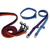 12x3/8 Elastic Blue Cat Collar