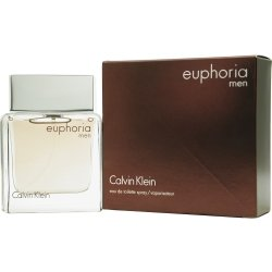 Calvin Klein Euphoria Eau de Toilette Spray for Men, 3.4 Ounce