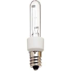 (Pack of 4) 75-Watt Single Ended T4 Candelabra E12 Base Halogen Bulb Clear