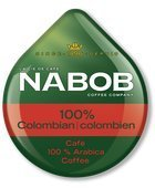 NABOB 100% COLOMBIAN COFFEE T-DISC 56 COUNT