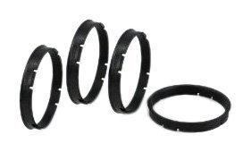Gorilla Automotive 73-6006 Wheel Hub Centric Rings (73mm OD X 60.06mm Id)-Pack of 4