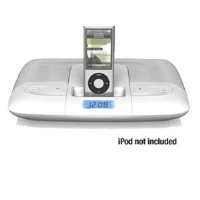 Travel Speaker System for iPod with carrying case (White)