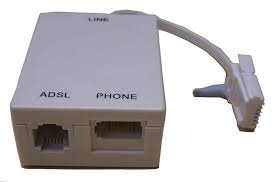 BT ADSL Microfilter. For use on an ADSL service from BT or other internet service provider.