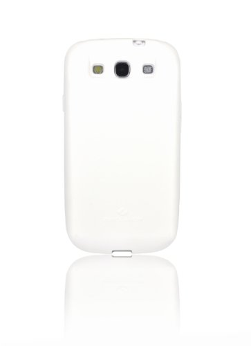 [180 days warranty] ZeroLemon Samsung Galaxy S III White Extended TPU Full Edge Protection Case Only for 7000mAh Extended Battery Battery NOT Included (Compatible with Samsung Galaxy S III GT-i9300, AT&T Samsung Galaxy S3 Samsung i747, Verizon Samsung Galaxy S3 Samsung i535, T-mobile Samsung Galaxy S3 Samsung T999, U.S. Cellular Samsung Galaxy S3 R530, and Sprint Samsung Galaxy S3 Samsung L710) - FOR 7000mAh WORLD'S HIGHEST S3 BATTERY CAPACITY - S3-White-Case