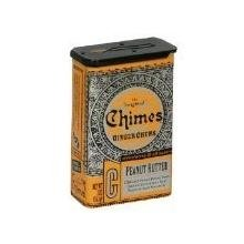 Chimes All Natural Peanut Butter Ginger Chews - 2 oz Tin