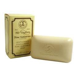 Sandalwood Bath Soap 200g soap bar by Taylor of Old Bond Street