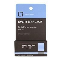 Every Man Jack Lip Balm Twin Pack ( Multi-Pack)