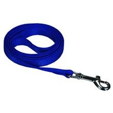 Dog Leash - Nylon - 6 Ft. Blue with a Width of 5/8 in.