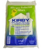 Kirby Universal Bag Kirby #204811 - Universal Hepa White Cloth Bags for All Generation & Sentria Models (6 Pk)