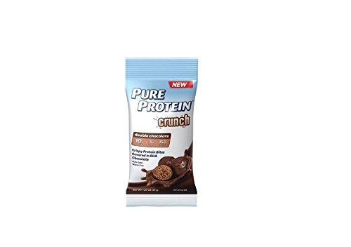 Pure Protein Crunch Double Chocolate, 1 Pack of 6 Little Pouches (Pack of 2)