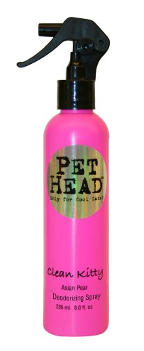 I HEART PET HEAD Clean Kitty Deodorizing Spray - Asian Pear - 8oz