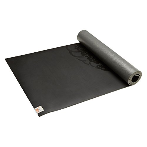 Gaiam Sol Dry-Grip XL Yoga Mat, Black, 5mm