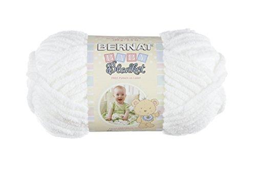 Spinrite Baby Blanket Yarn, White