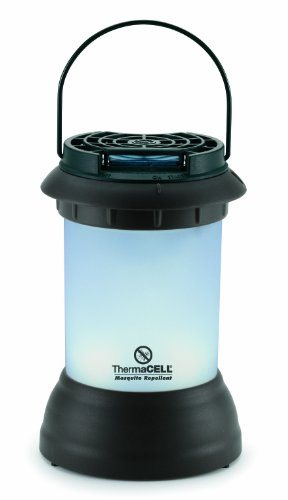 ThermaCELL MR-9S Mosquito Repellent Pest Control Outdoor and Camping Cordless Dark Bronze Lantern