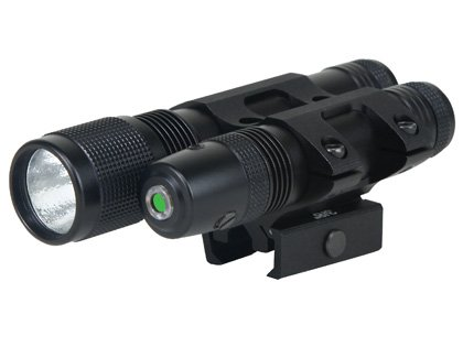 BSA Stealth Tactical 532 Green Laser and 140 Lumen Light
