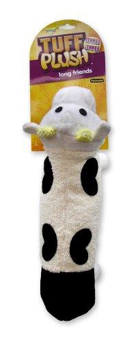 Aspen Pet 353210 Petmate Tuff Long Friends Dog Toy, Cow
