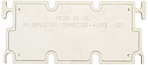 Micro Jig GRDC-020 GRR-Ripper Deflector/Connector Accessory