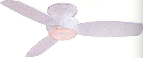 Minka-Aire F594-WH Minka Aire One Light Hugger Ceiling Fan, White