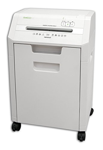 GoECOlife GHC85P 8-Sheet Nanocut Paper Shredder, White