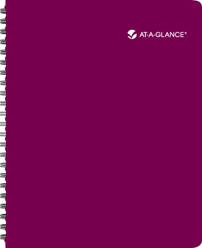 AT-A-GLANCE 2014 Poppies Weekly and Monthly Large Appointment Book, Red, 8.88 x 11 x .56 Inches (832P-905)