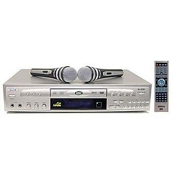 Rj Tech Rj-4200 Karaoke + 2 Microphones Multi Region Code Free DVD Player 110 220 Volts PAL Ntsc