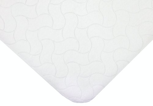 American Baby Company Waterproof Embossed Quilt-Like Lap Pad (2 Pieces)