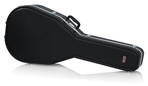 Gator Cases GC-JUMBO ABS Plastic Jumbo Sized Acoustic Dreadnought Guitar Case
