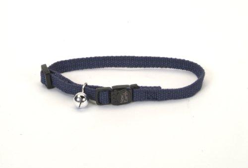 1 X New Earth Cat Collar - 3/8 - Indigo