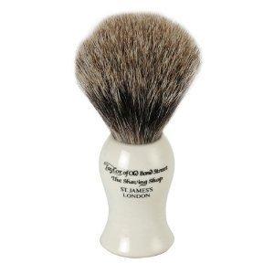 Taylor Of Old Bond Street Best Badger Ivory Shaving Brush - Medium