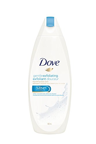 Dove Body Wash Gentle Exfoliating Body Wash, 650 Milliliter