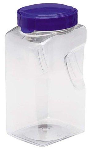 Emsa SNAPWARE 2126380400 Food-Storage Jar with Handle 3.8 L Rectangular Blue