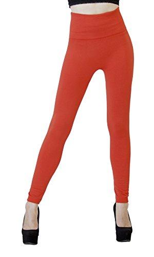 D&K Monarchy Full Leggings Orange (Slimming) (0 - 12)