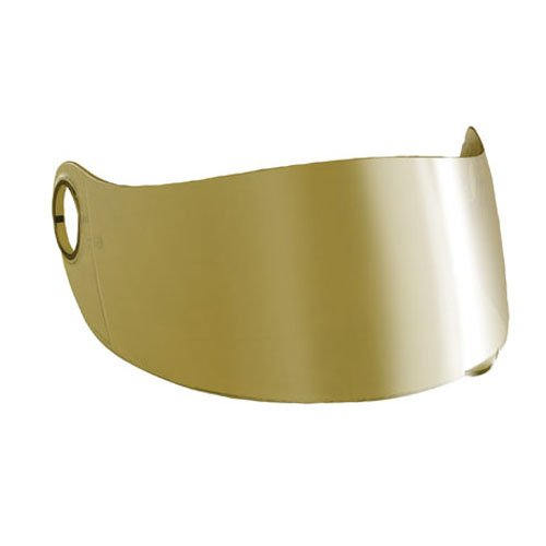 Scorpion Everclear Faceshield for EXO-400/700 Helmet - Gold Mirror
