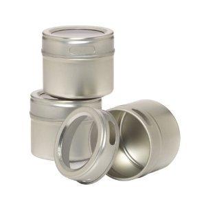 Kamenstein Magnetic Storage Tins/Spice Racks