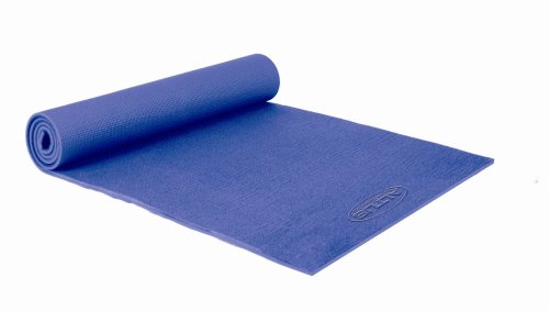 Altus Athletic 72-Inch by 24-Inch Double-Thick Yoga / Pilates Mat (Blue)
