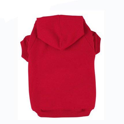 BingPet Blank Basic Cotton/Polyester Pet Dog Sweatshirt Hoodie BA1002