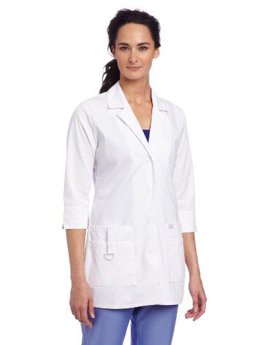 Dickies Scrubs Women's Junior Fit 3/4 Sleeve Lab Coat