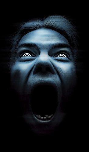 WOWindow Posters Silent Shrieker Halloween Window Decoration One 34.5x60 backlit poster