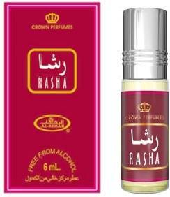 Rasha - 6ml (.2 oz) Perfume Oil by Al-Rehab (Crown Perfumes)