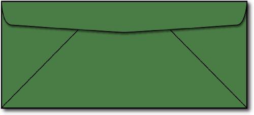 Green #10 Envelopes - 50 Envelopes - Desktop Publishing Supplies™ Brand Envelopes