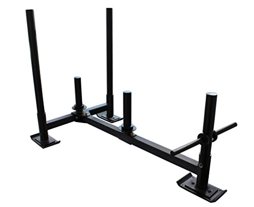 Heavy Duty High Low Push Pull HD Weight Sled Crossfit Training Titan Fitness