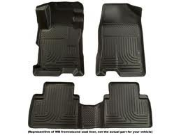 Husky WeatherBeaters 2012-2013 Toyota Prius V Custom Molded Front & 2nd Seat Floor Liners -Black