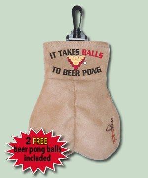 Beer Pong Ball Sack MySack Ultra-Suede Regulation